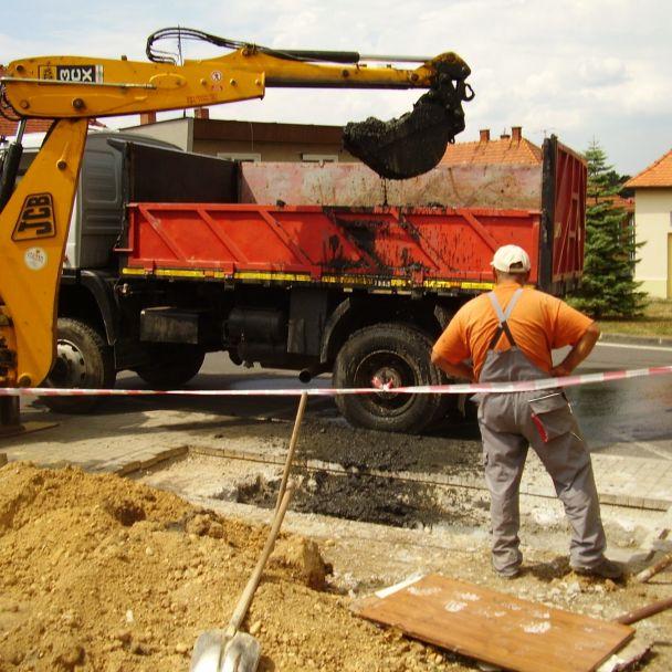 Rekonštrukcia dažďovej kanalizácie