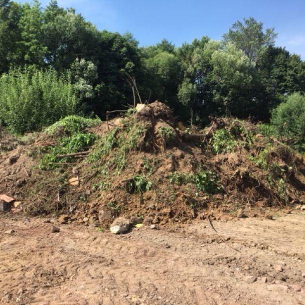 Príprava staveniská - obytná zóna