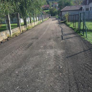 Rekonštrukcia miestnej komunikácie ul. Športová