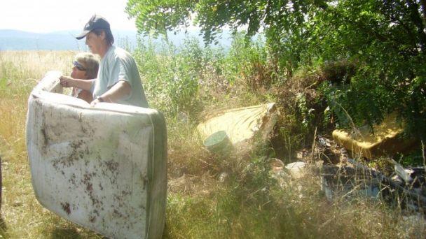 Odstránenie nebezpečnej skládky v k. ú. obce Machulince
