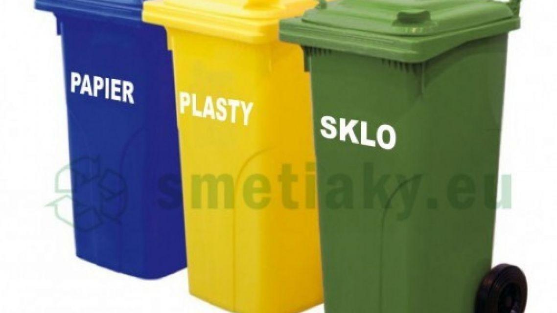 Nebuďme leniví, trieďme odpad!