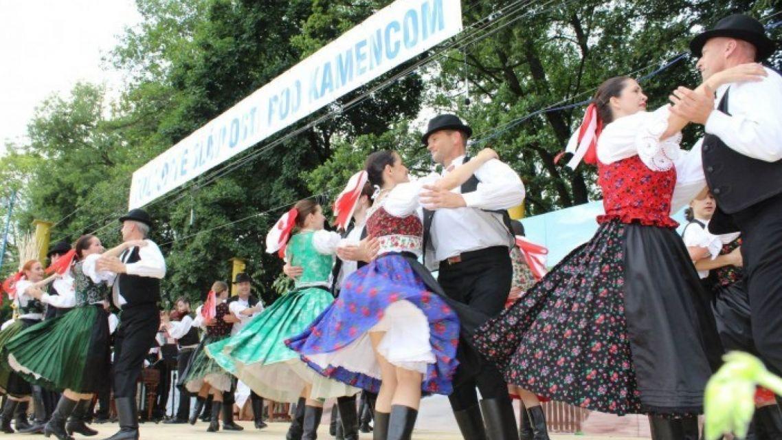 Folklórne slávnosti pod Kamencom - 01.06.2019