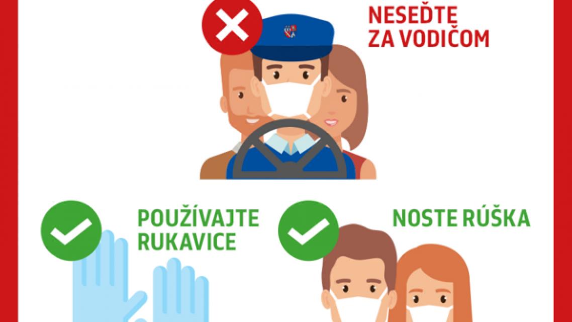 Informácia pre rodičov detí cestujúcich autobusom