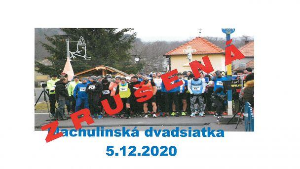 Zrušená Machulinská 20-tka - 05.12.2020